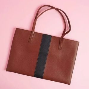 NWT Vince Camuto Luck Tote Red Desert